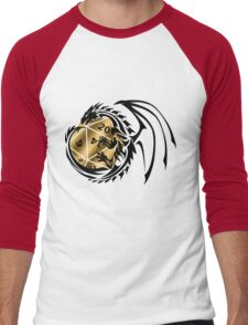 Dungeons and Dragons - Black and Gold! Men's Baseball ¾ T-Shirt