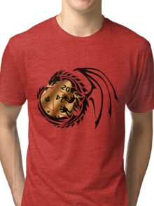 Dungeons and Dragons - Black and Gold! Tri-blend T-Shirt