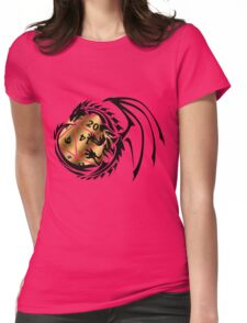 Dungeons and Dragons - Black and Gold! Womens Fitted T-Shirt