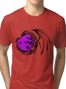 Dungeons and Dragons - Black and Purple! Tri-blend T-Shirt