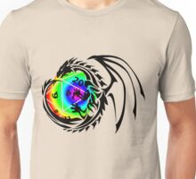 Dungeons and Dragons - Black and Rainbow (Prismatic)! Unisex T-Shirt