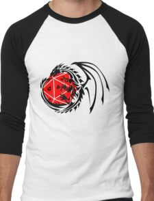 Dungeons and Dragons - Black and Red! Men's Baseball ¾ T-Shirt
