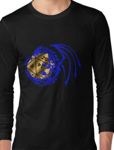 Dungeons and Dragons - Blue and Gold! Long Sleeve T-Shirt