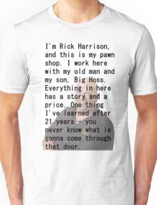 PawnStars meme shirt Unisex T-Shirt