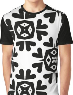 Flower Square Graphic T-Shirt