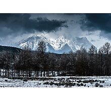 Storm over the Tetons Photographic Print
