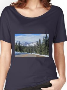 Mount Evans Snow Capped Women's Relaxed Fit T-Shirt