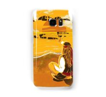 Jack Sparrow Sunset Samsung Galaxy Case/Skin