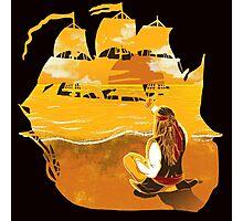Jack Sparrow Sunset Photographic Print