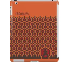 The Shining Floor Pattern Minimalist iPad Case/Skin