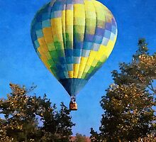 Hot Air Balloons Rising Above by Glenn McCarthy