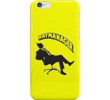 Batmanager iPhone Case/Skin