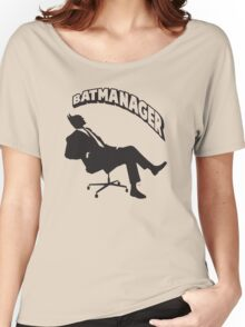 Batmanager Women's Relaxed Fit T-Shirt