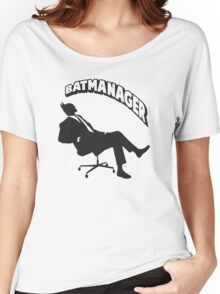 Batmanager Women's Relaxed Fit T-Shirt