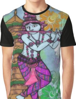 Krishna Rising Graphic T-Shirt