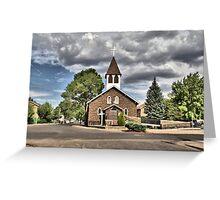 Little Church in  Flagstaff Greeting Card