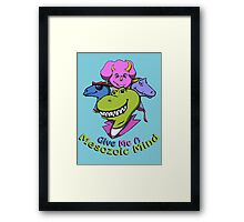 You can keep your Cenozoic  Framed Print