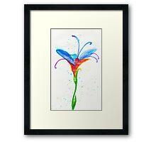 Fey Flower Framed Print