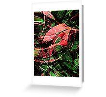 Meta Nature Greeting Card
