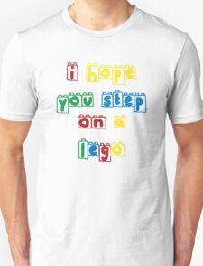 Step on a lego Unisex T-Shirt