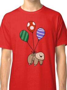 Balloon Two-Toed Sloth Classic T-Shirt