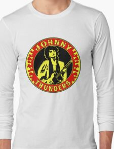 Johnny Thunders Colour Long Sleeve T-Shirt