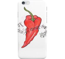 chili pepper iPhone Case/Skin