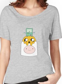 Adventure Time Totem - Finn, Jake and BMO Women's Relaxed Fit T-Shirt