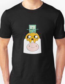 Adventure Time Totem - Finn, Jake and BMO Unisex T-Shirt
