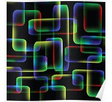 abstract multicolor background Poster