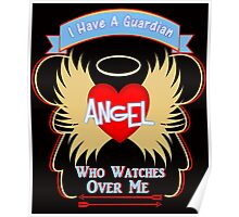 A Guardian Angel Watching Over You  Poster