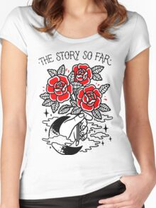 the story so far Women's Fitted Scoop T-Shirt