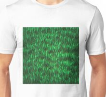 Green Grass Background Unisex T-Shirt