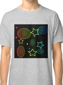 abstract colorful  background Classic T-Shirt