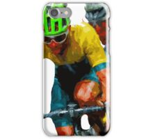 Cyclist Tee by Tom Sachse 3 iPhone Case/Skin