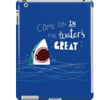 Great Advice Shark iPad Case/Skin