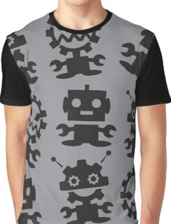 Old School Monster Gear Graphic T-Shirt
