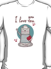 i love sea T-Shirt