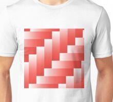 red parquet background Unisex T-Shirt