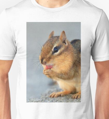 Chipmunk Cleaning Paws Unisex T-Shirt