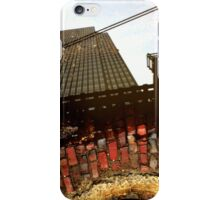 Red Brick and Tracks iPhone Case/Skin