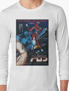 Japanese Tron Poster Long Sleeve T-Shirt