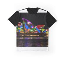 Sydney Vivid 1 Birds Graphic T-Shirt