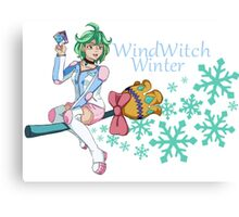 Rin - WindWitch Winter Canvas Print