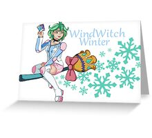 Rin - WindWitch Winter Greeting Card
