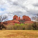 Cathedral Rock Panorama by James Eddy