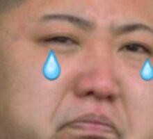 Kim Jong Sadboy Sticker