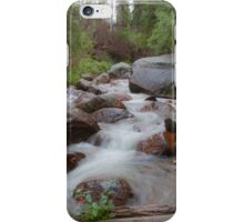 Relaxing Chicago Creek Cascade iPhone Case/Skin