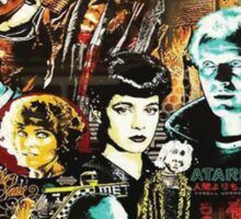 Japanese Blade Runner Poster Sticker