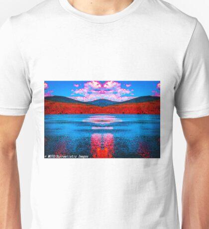 Zeus Over Cooper Lake Unisex T-Shirt